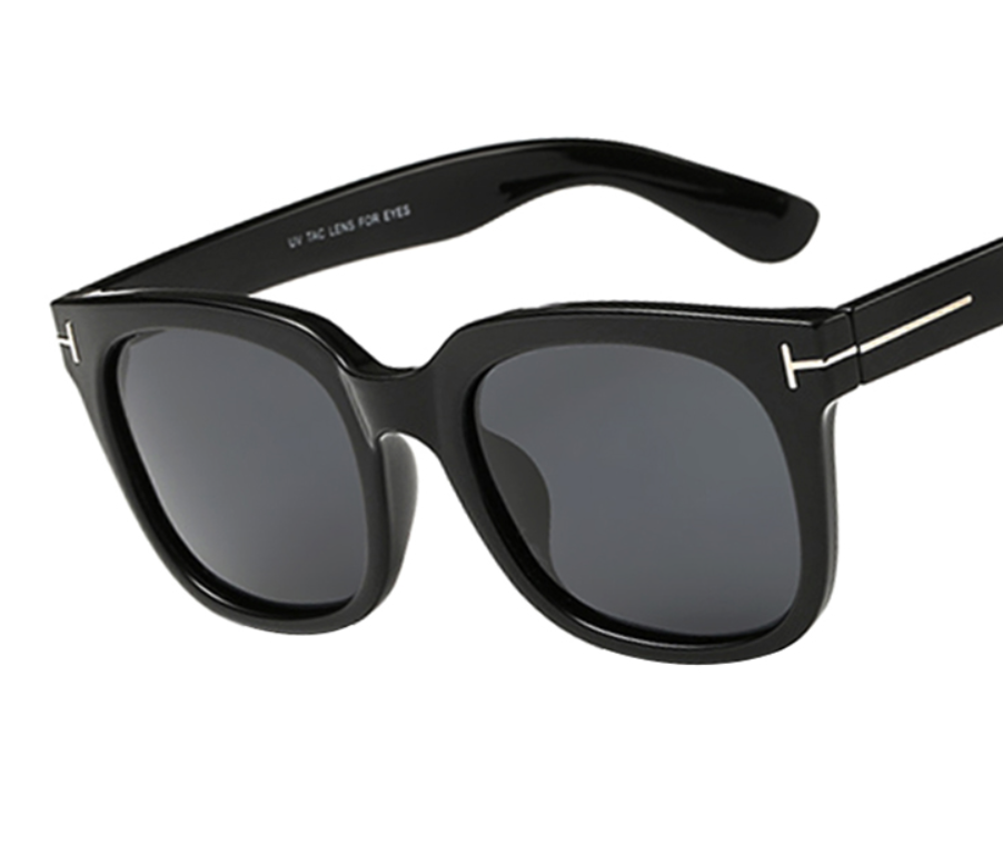 James Sunglasses - Black w/ Gray Lens - D103 - BLACKGRAY