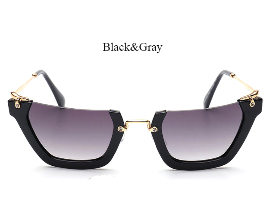 Rimless - E012 - BLACKGRAY