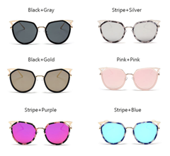Cat Eye Metal - 6 Color Options - E136