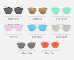 Aaliyah Mirrored - D110 - ASSORTMENT OF COLOR OPTIONS