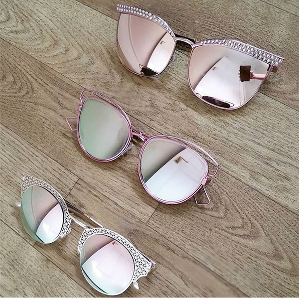 Preimum Pack - Rose Gold Bundled Sunnies - 3 Pack X095, X126 & D108