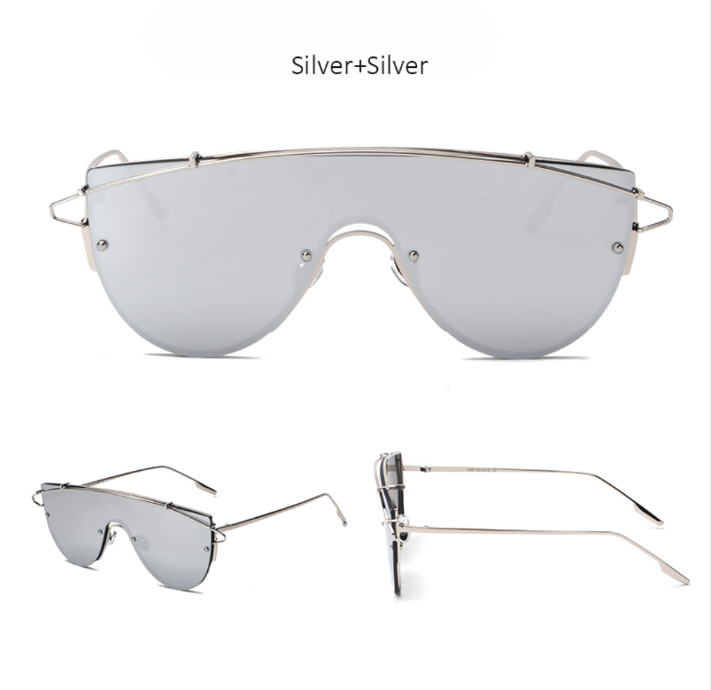 Dash Sunglasses - Available in 4 Color Options - Mirrored - X254