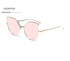 Oversized Top Shelf Cat Eye Sunnies - 4 Color Options - X253