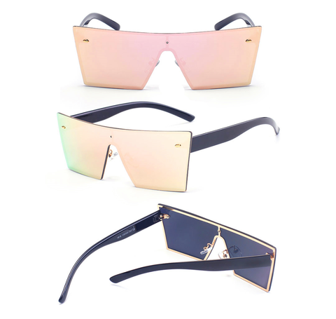 Cancun Square Sunnies - As seen on Kim K - E0084