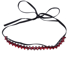Marquise Red - Black Wrap
