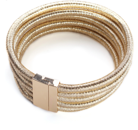 Beverly Gold - New 2017 Arrival - Magnetic Clasp - 3 Color Options