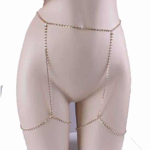 Body & Leg Chain - Gold or Silver