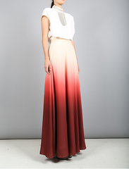 Upper East Side Ombre Skirt