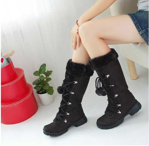 Snow Bunny Boots - Black