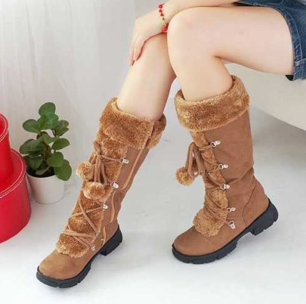 Snow Bunny Boots - Brown