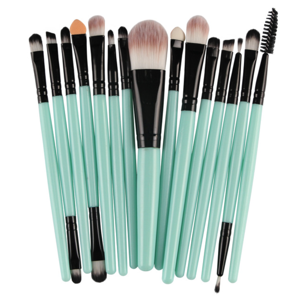 15 Piece Must Have Make Up Brush Set - Trending - Choose your Color! 4 Options