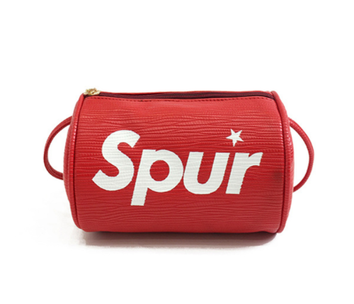 Spur CrossOver Handbag - Red or Black
