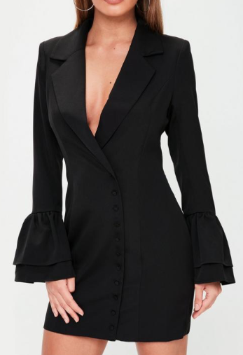 Black Blazer Dress - Limited Edition