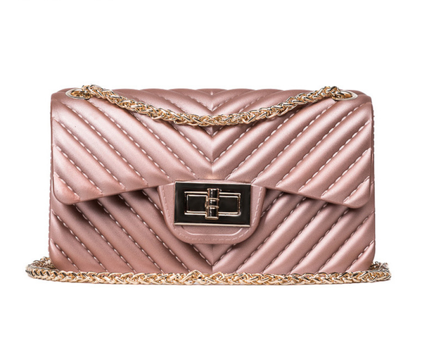 Best Seller - Shimmer Pleated Handbag - Many Colors including Rose Gold, Green, Maroon