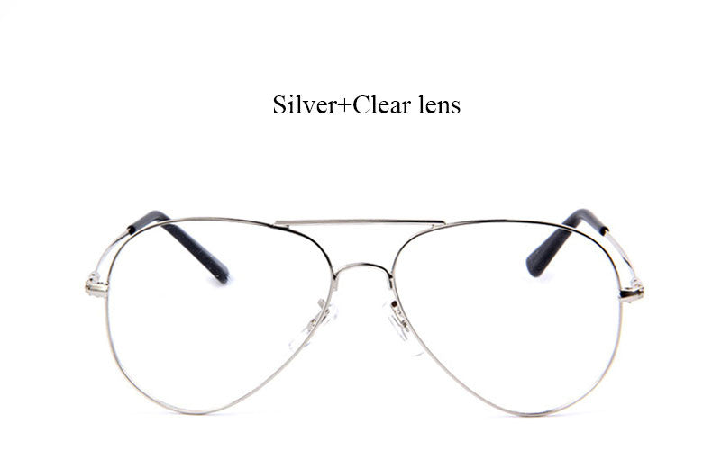 Simple Clear Aviators - 3 Color Options