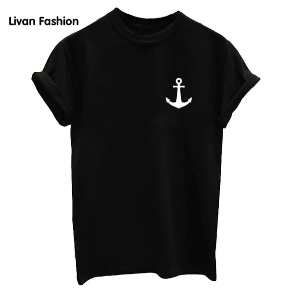 Anchor Famous Tee - Black, White or Gray
