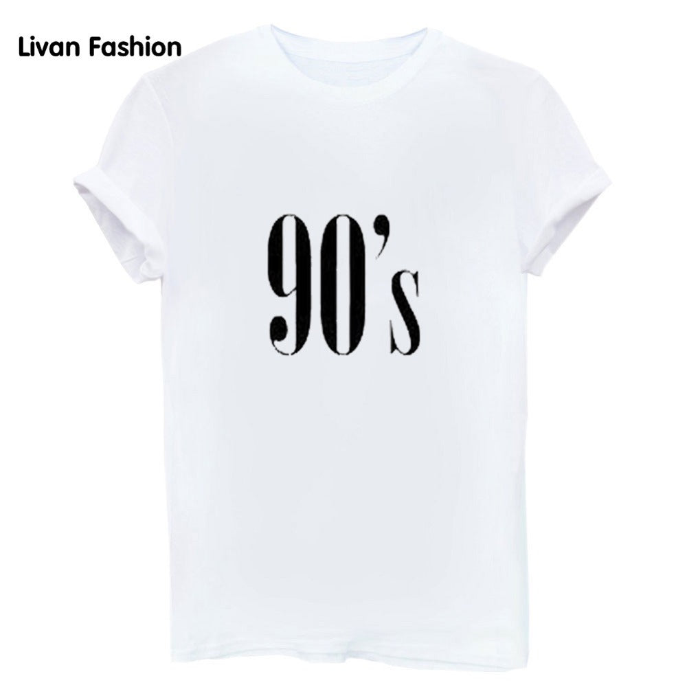 90's Famous Tee - Black, White or Gray