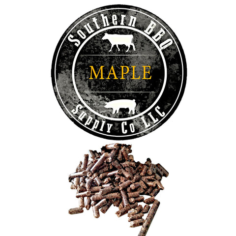 Maple BBQ Pellets - Southern BBQ Supply Co LLC - 1