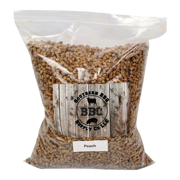 Peach Wood BBQ Pellets