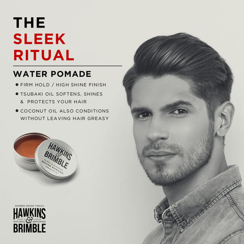 The Sleek Ritual - What is Water Pomade?