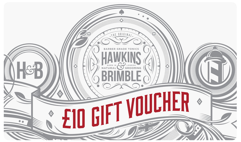 Gift Vouchers - Gift Card - Hawkins & Brimble Barbershop Male Grooming Products for Beards and Hair
