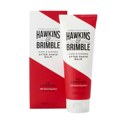 After Shave Balm - Shaving - Hawkins & Brimble Barbershop Male Grooming Products for Beards and Hair