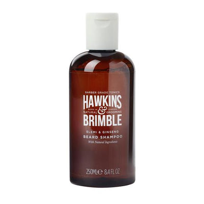 Beard Shampoo 250ml - Beard Care - Hawkins & Brimble Barbershop Male Grooming Products for Beards and Hair