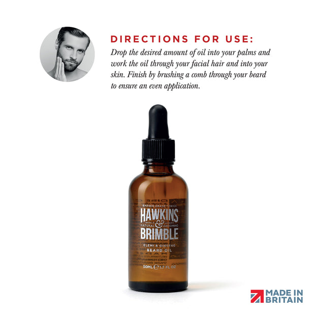 _TEST-PRODUCT -  - Hawkins & Brimble Barbershop Male Grooming Products for Beards and Hair