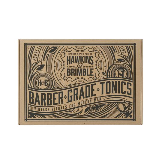 Gift Set - Gifts - Hawkins & Brimble Barbershop Male Grooming Products for Beards and Hair