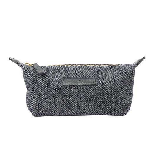 Hawkins & Brimble Wash Bag (Grey Wool) -  - Hawkins & Brimble Barbershop Male Grooming Products for Beards and Hair