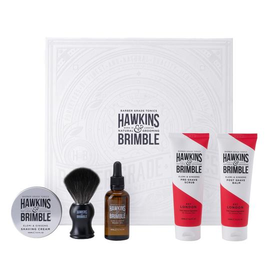 Limited Edition Gift Set -  - Hawkins & Brimble Barbershop Male Grooming Products for Beards and Hair