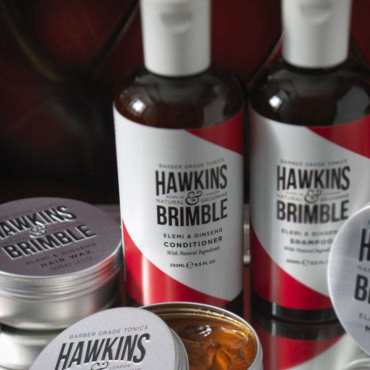 Conditioner 250ml -  - Hawkins & Brimble Barbershop Male Grooming Products for Beards and Hair