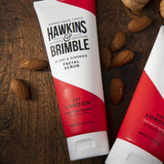 Facial Scrub 125ml - Skin Care - Hawkins & Brimble Barbershop Male Grooming Products for Beards and Hair