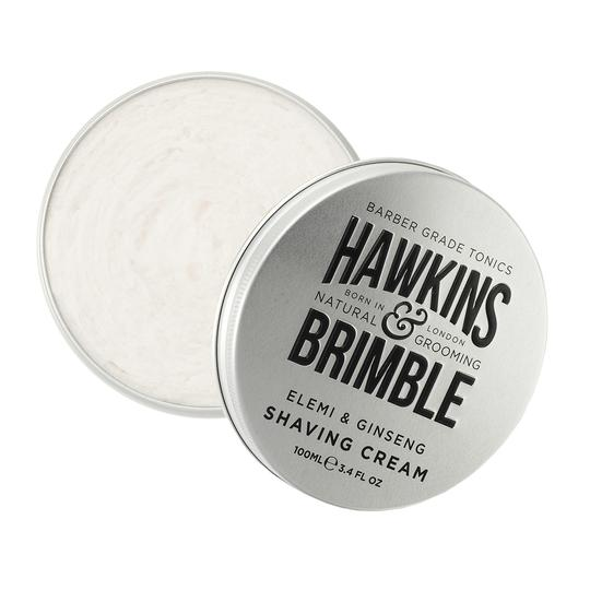 Shaving Cream 100ml -  - Hawkins & Brimble Barbershop Male Grooming Products for Beards and Hair