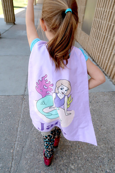 Mermaid on Purple