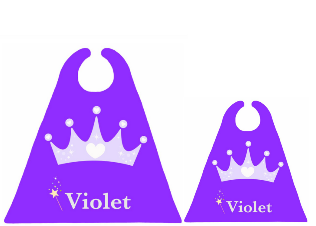Purple Crown Matching Set