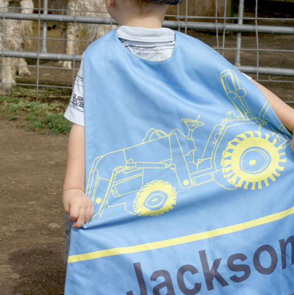 Tractor - Blue/Yellow