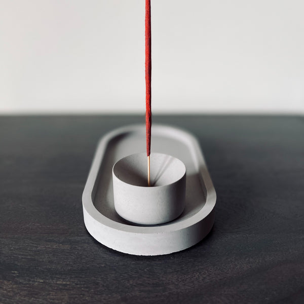 Modernist incense holder