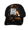 Broke Before Dad Hat (Black Distressed)