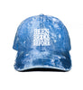 Been Broke Before Distressed Dad Hat (Blue Jean)