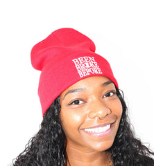Been Broke Before Beanie (Red)