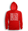 Been Broke Before Hoodie (Red)