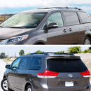 2011-2017 Toyota Sienna Aluminum Black Cross Bar
