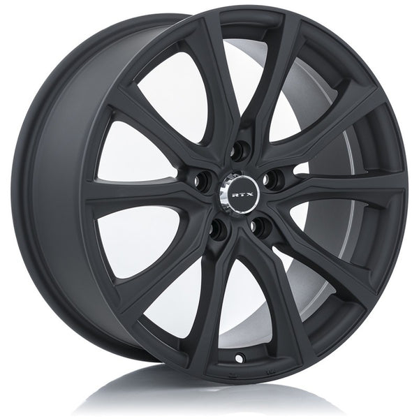 "RTX 15"" Alloy Wheel RTX CONTOUR 15x6.5 5x114.3 +40 Matt Black"