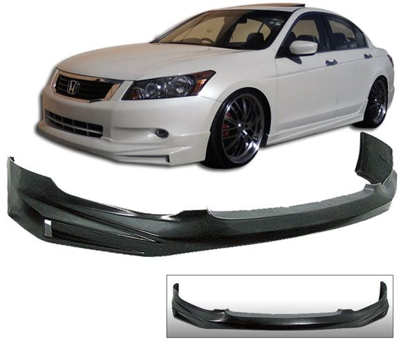 2008-2010 Honda Accord Sedan 4door Mugen style Front Bumper Lip
