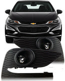2017-2018 Chevrolet Cruze Fog Lights - Clear (Wiring Kit Included)