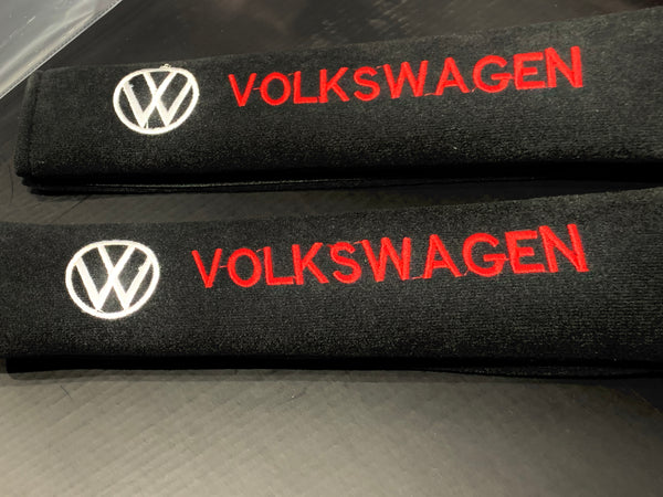 Volkswagen VW - Seat Belt Cover Protectors Shoulder Pad