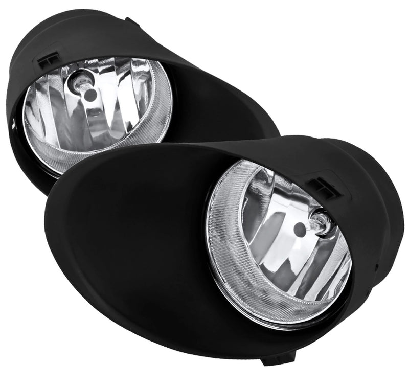 2008-2011 Toyota Sequoia models Tundra Fog Lights (Chrome Housing/Clear Lens)