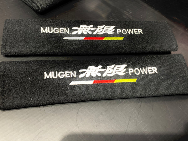 JDM Mugen Power - Seat Belt Cover Protectors Shoulder Pad