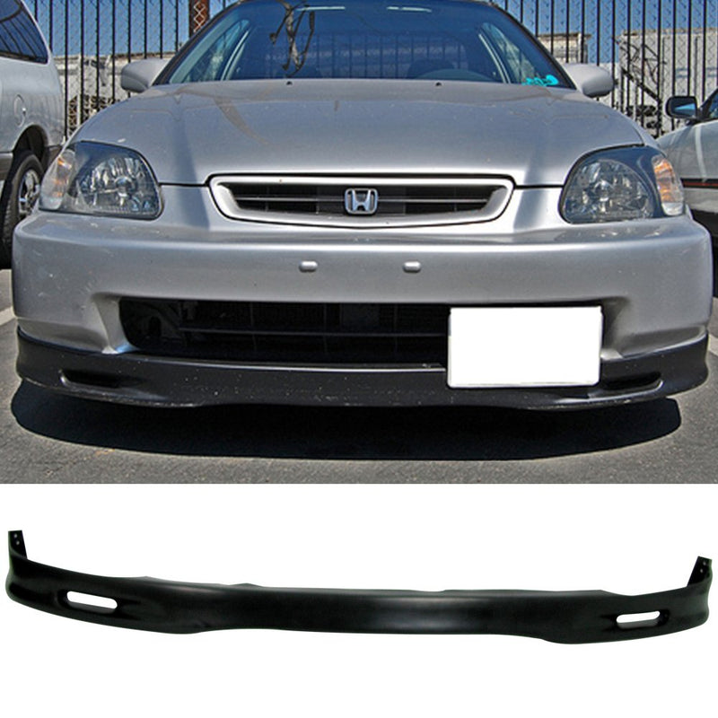 1996-1998 Honda Civic 2/3/4door Spoon style Front Bumper Lip